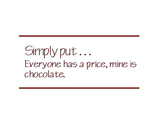 Chocolate Style B (12 quotes)