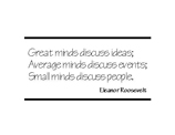 Eleanor Roosevelt Style A (12 designs)